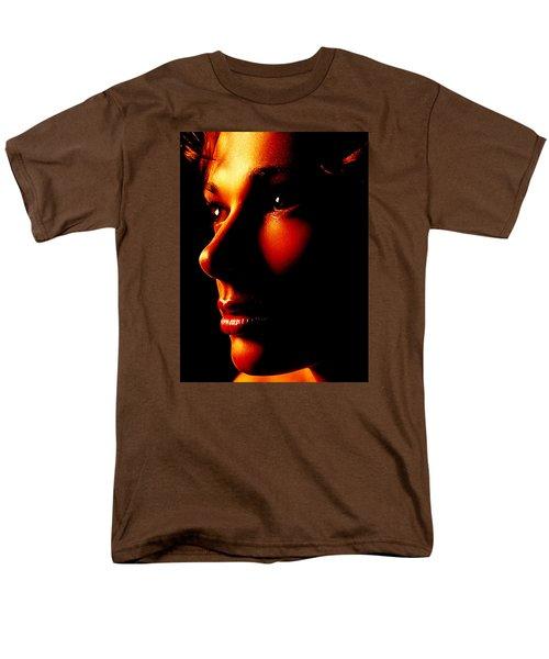 Two Tone Portrait Men's T-Shirt  (Regular Fit) by Richard Thomas