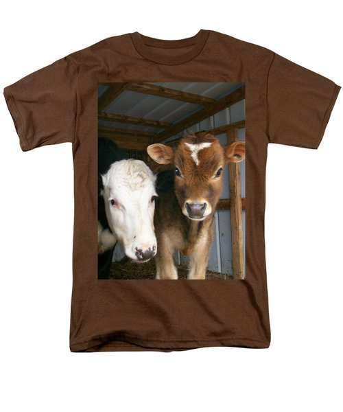 Men's T-Shirt  (Regular Fit) featuring the photograph Two's Company by Sara  Raber