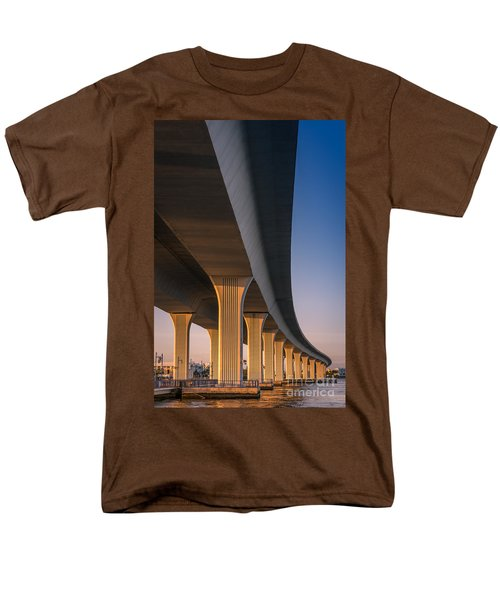 Under The Bridge Men's T-Shirt  (Regular Fit) by Jola Martysz