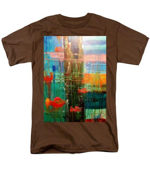 Under The Dock Men's T-Shirt  (Regular Fit) by Renate Nadi Wesley