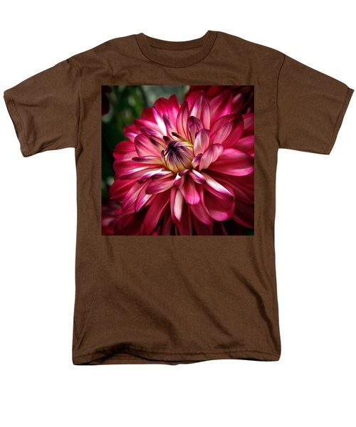 Dahlia Unfolding Men's T-Shirt  (Regular Fit) by Athena Mckinzie