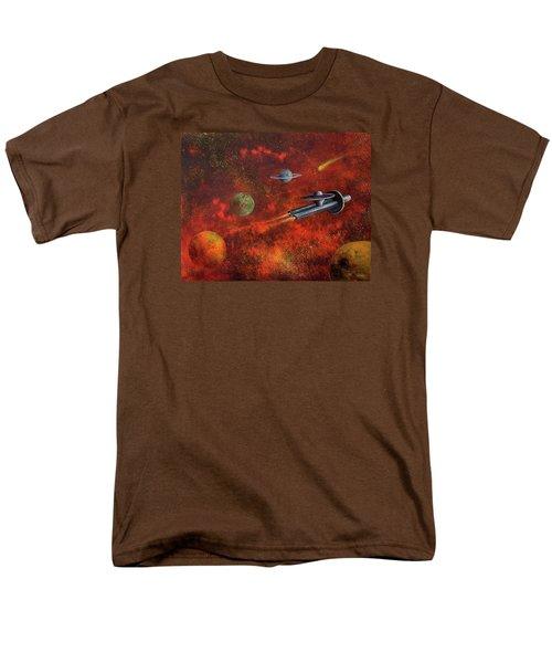 Unidentified Flying Object Men's T-Shirt  (Regular Fit)