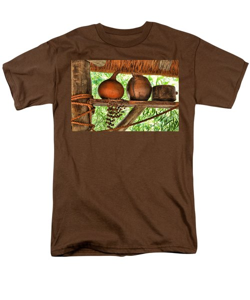 Up On A Shelf Men's T-Shirt  (Regular Fit) by Jan Amiss Photography