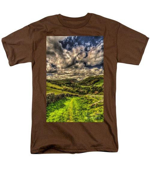 Valley View Men's T-Shirt  (Regular Fit) by Steve Purnell