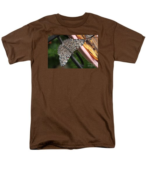 Men's T-Shirt  (Regular Fit) featuring the photograph Variable Craker Butterfly #2 by Judy Whitton
