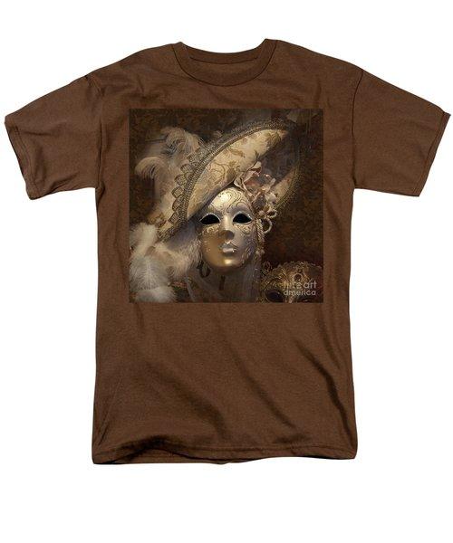 Venetian Face Mask F Men's T-Shirt  (Regular Fit) by Heiko Koehrer-Wagner