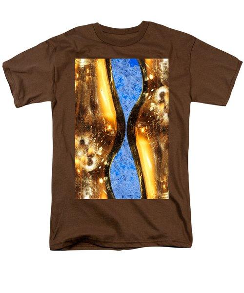 Vertical Independence Men's T-Shirt  (Regular Fit) by Don Gradner