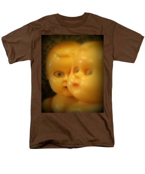 Very Scary Doll Men's T-Shirt  (Regular Fit) by Lynn Sprowl