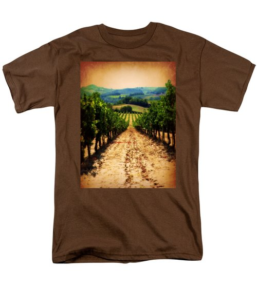 Vigneto Toscana Men's T-Shirt  (Regular Fit) by Micki Findlay