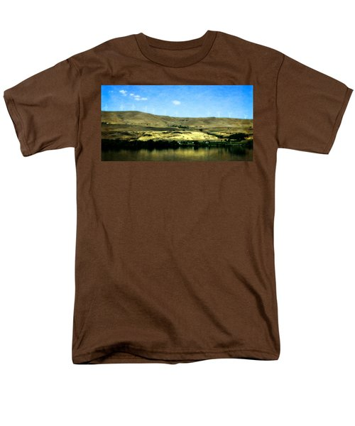 Vineyards On The Columbia River Men's T-Shirt  (Regular Fit) by Michelle Calkins