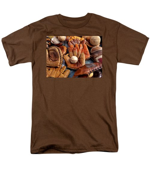Vintage Baseball Men's T-Shirt  (Regular Fit) by Art Block Collections