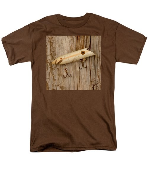 Vintage Fishing Lure Men's T-Shirt  (Regular Fit) by Art Block Collections