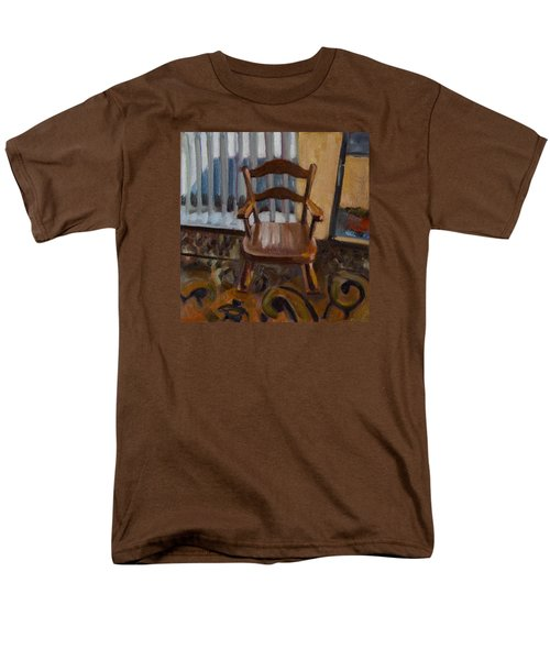 Men's T-Shirt  (Regular Fit) featuring the painting Vintage Rocker by Pattie Wall