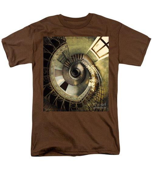 Vintage Spiral Staircase Men's T-Shirt  (Regular Fit)