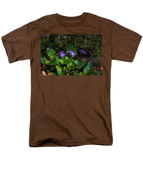 Violets Men's T-Shirt  (Regular Fit) by Dorothy Cunningham
