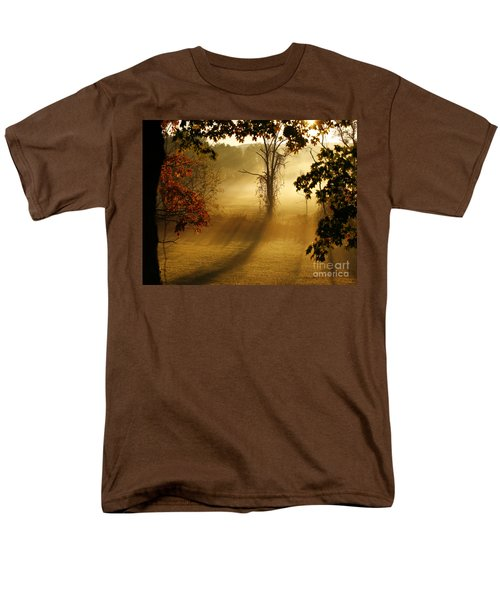 Men's T-Shirt  (Regular Fit) featuring the photograph Virginia Sunrise by Carol Lynn Coronios