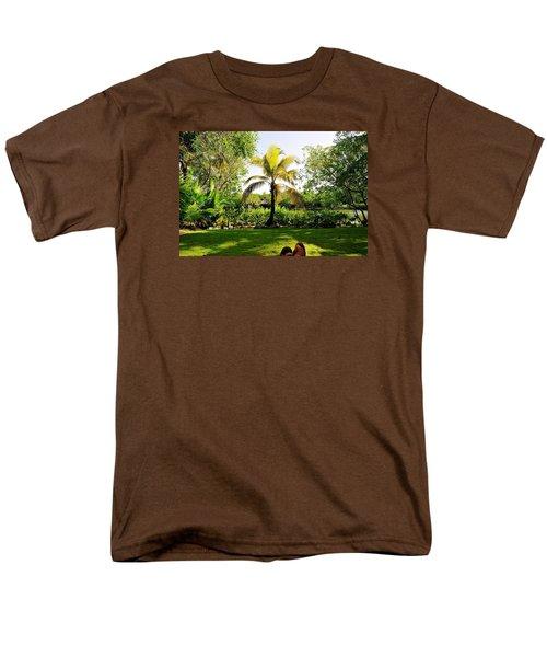 Visiting A Mayan Trail Men's T-Shirt  (Regular Fit)