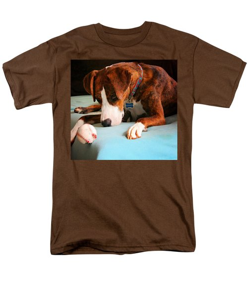 Men's T-Shirt  (Regular Fit) featuring the photograph Wait For It      Wait For It by Robert McCubbin