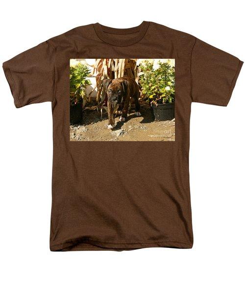 Men's T-Shirt  (Regular Fit) featuring the photograph Was I Bad? by Carol Lynn Coronios