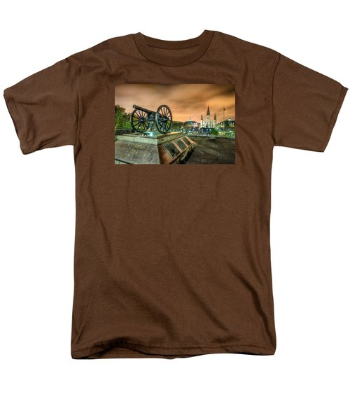 Washington Artillery Park Men's T-Shirt  (Regular Fit) by Tim Stanley