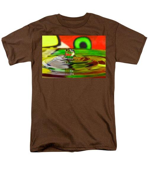 Men's T-Shirt  (Regular Fit) featuring the photograph Water Drop by Peter Lakomy