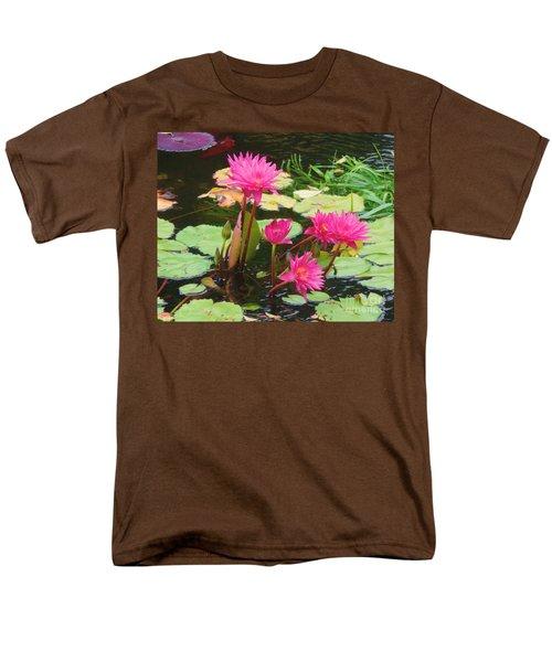 Water Lilies 008 Men's T-Shirt  (Regular Fit) by Robert ONeil