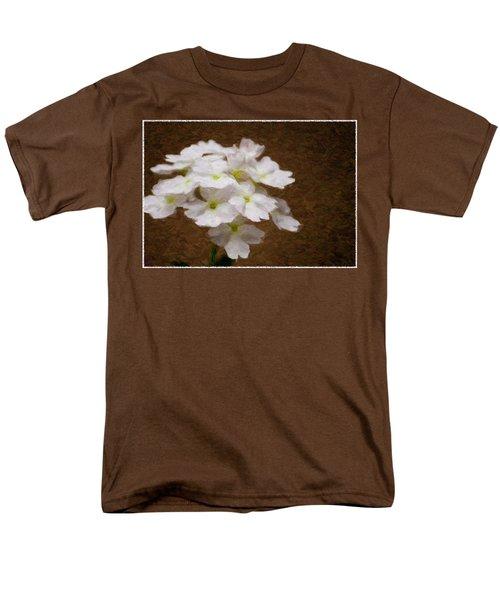 Watercolor Of Daisies Men's T-Shirt  (Regular Fit)