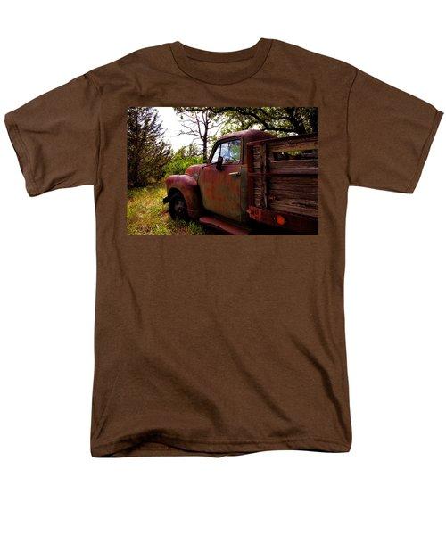 Watermelon Truck Men's T-Shirt  (Regular Fit) by Toni Hopper