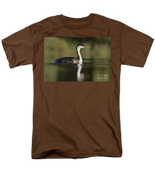 Western Grebe Men's T-Shirt  (Regular Fit) by Bryan Keil