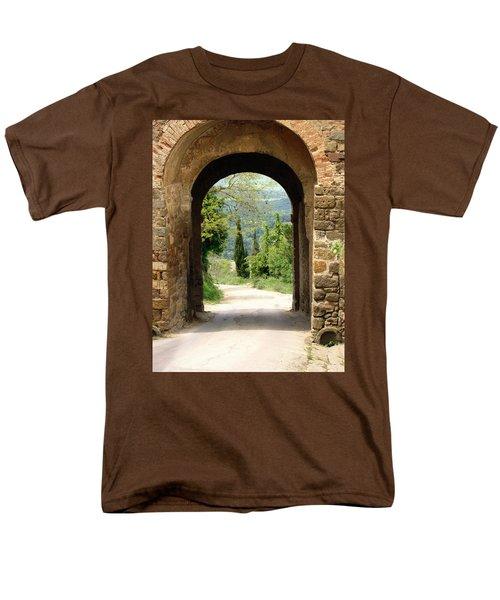 What Lies Ahead Men's T-Shirt  (Regular Fit)