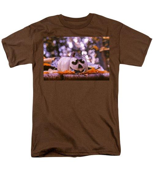 White Pumpkin Men's T-Shirt  (Regular Fit) by Aaron Aldrich