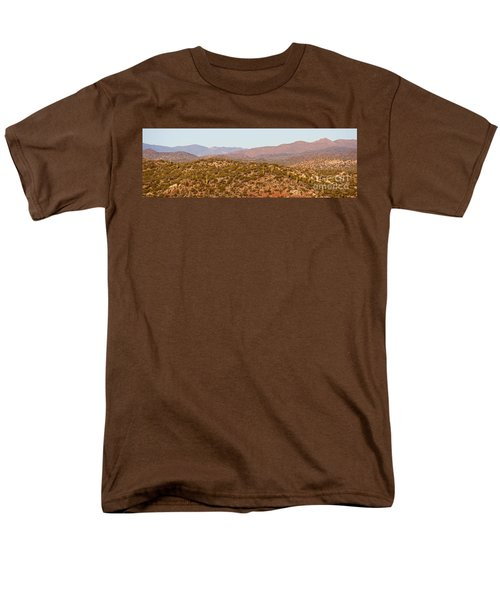 Wickenburg Mountains Men's T-Shirt  (Regular Fit) by Suzanne Oesterling
