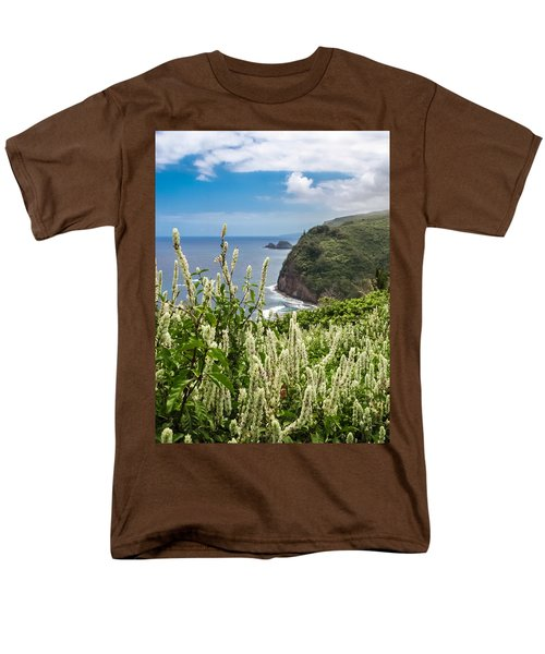 Wild Flowers At Pololu Men's T-Shirt  (Regular Fit) by Denise Bird