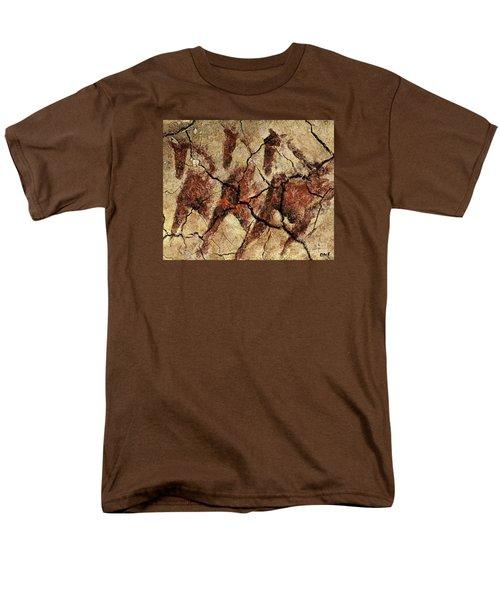 Wild Horses - Cave Art Men's T-Shirt  (Regular Fit)