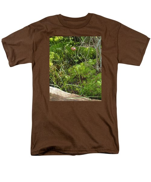 Men's T-Shirt  (Regular Fit) featuring the photograph Wildflower 1 by Robert Nickologianis