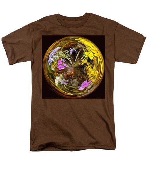 Men's T-Shirt  (Regular Fit) featuring the photograph Wildflower Paperweight by Gary Holmes