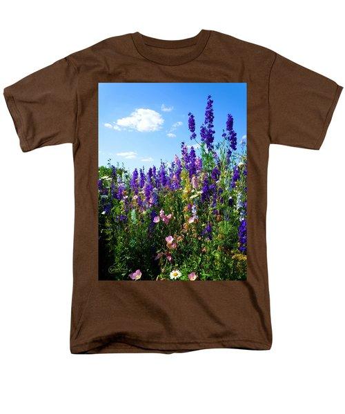 Wildflowers #9 Men's T-Shirt  (Regular Fit) by Robert ONeil