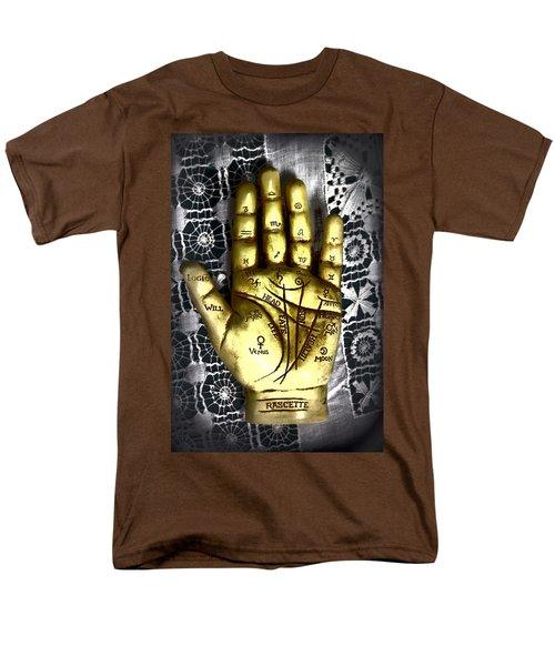 Winning Hand Men's T-Shirt  (Regular Fit) by Lynn Sprowl