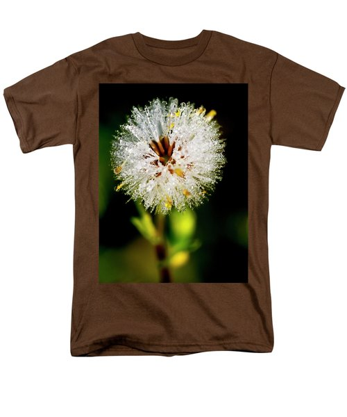 Men's T-Shirt  (Regular Fit) featuring the photograph Winter Dandelion by Pedro Cardona