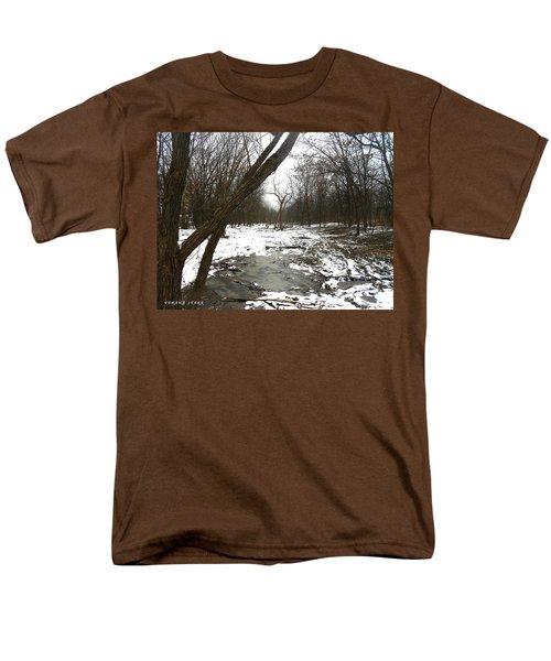 Winter Forest Series Men's T-Shirt  (Regular Fit) by Verana Stark