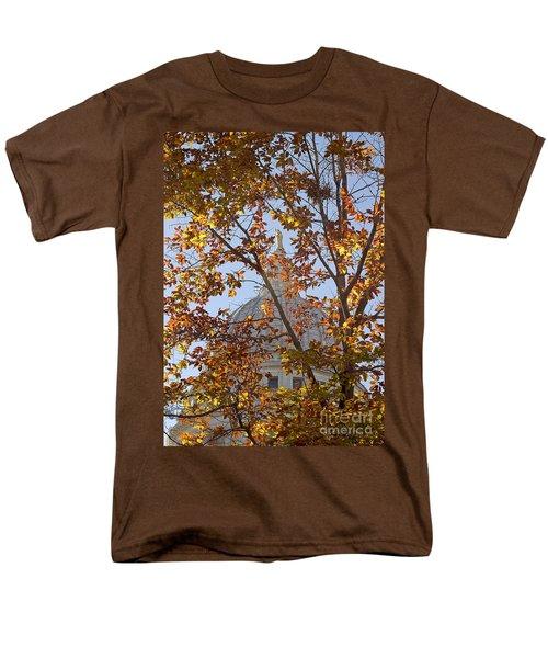 Wisconsin Capitol Men's T-Shirt  (Regular Fit) by Steven Ralser