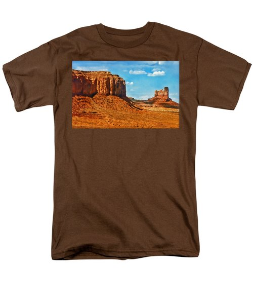 Men's T-Shirt  (Regular Fit) featuring the photograph Witnesses Of Time by Hanny Heim