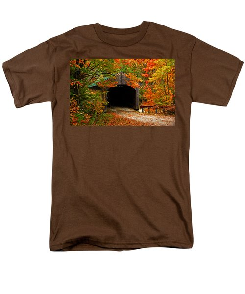 Wooden Bridge Men's T-Shirt  (Regular Fit) by Bill Howard