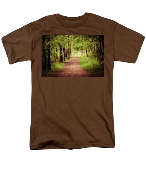 Woodland Trail Men's T-Shirt  (Regular Fit)