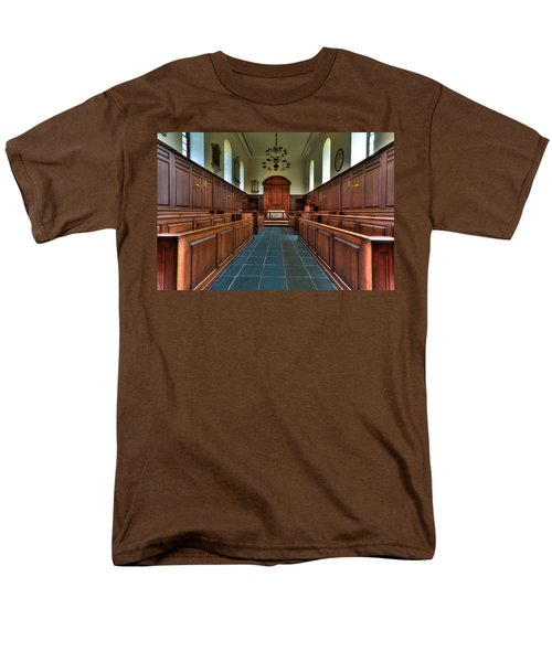 Wren Chapel Interior Men's T-Shirt  (Regular Fit) by Jerry Gammon