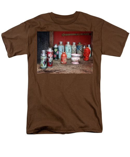 Yak Butter Thermoses Men's T-Shirt  (Regular Fit)