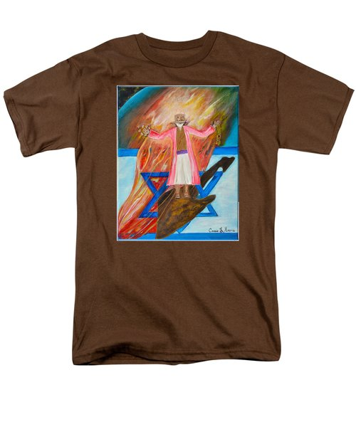 Men's T-Shirt  (Regular Fit) featuring the painting Yeshua by Cassie Sears