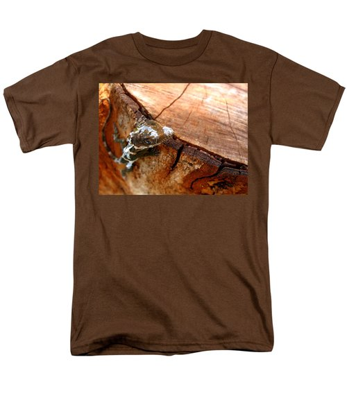Men's T-Shirt  (Regular Fit) featuring the photograph You Can See Me? by Greg Allore