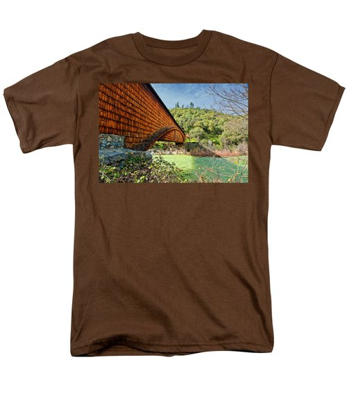 Men's T-Shirt  (Regular Fit) featuring the photograph Yuba State Park by Jim Thompson
