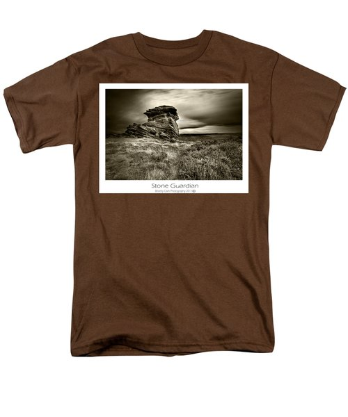 Men's T-Shirt  (Regular Fit) featuring the photograph  Stone Guardian by Beverly Cash